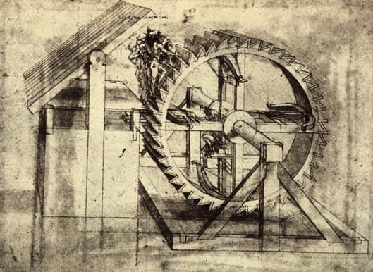 Crossbow machine - by Leonardo da Vinci