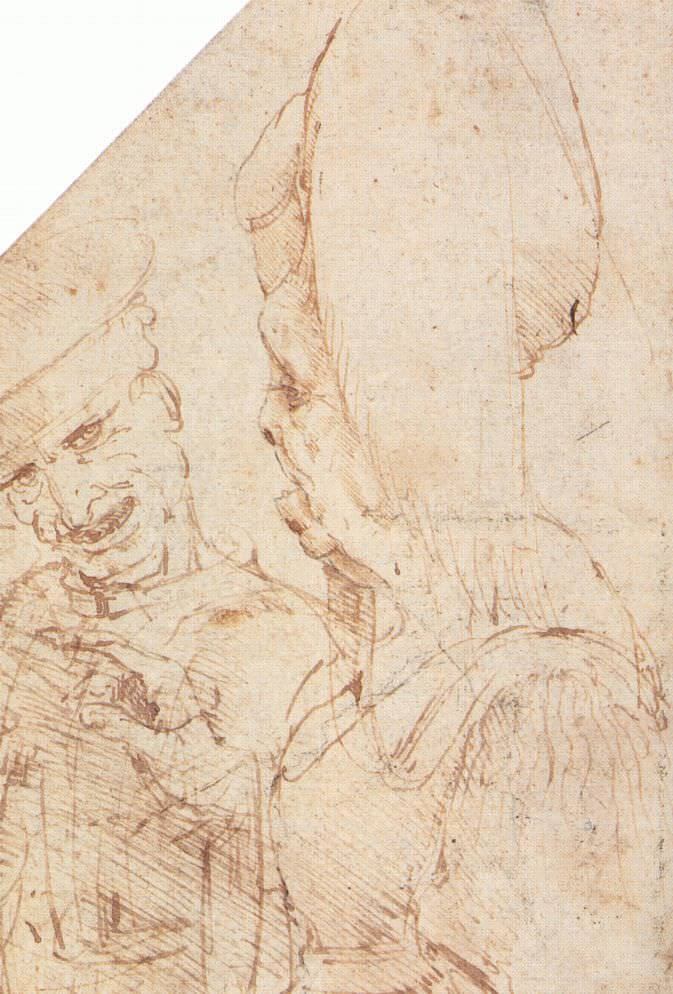Matched couple - by Leonardo da Vinci