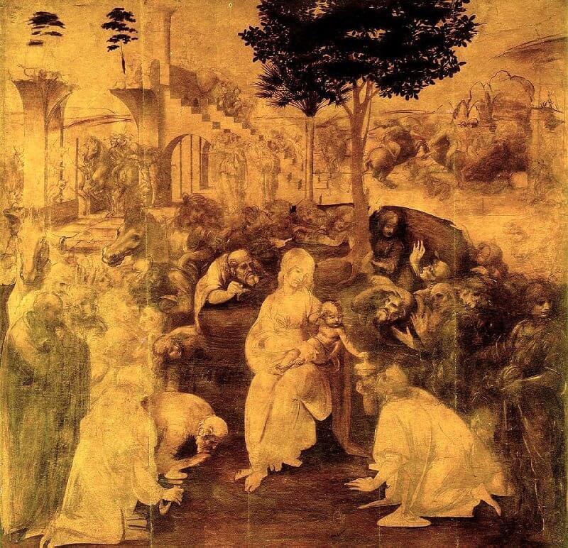The Adoration Of The Magi  By Leonardo Da Vinci  Example Of Proposal Essay also Essay Paper Generator  Science Vs Religion Essay