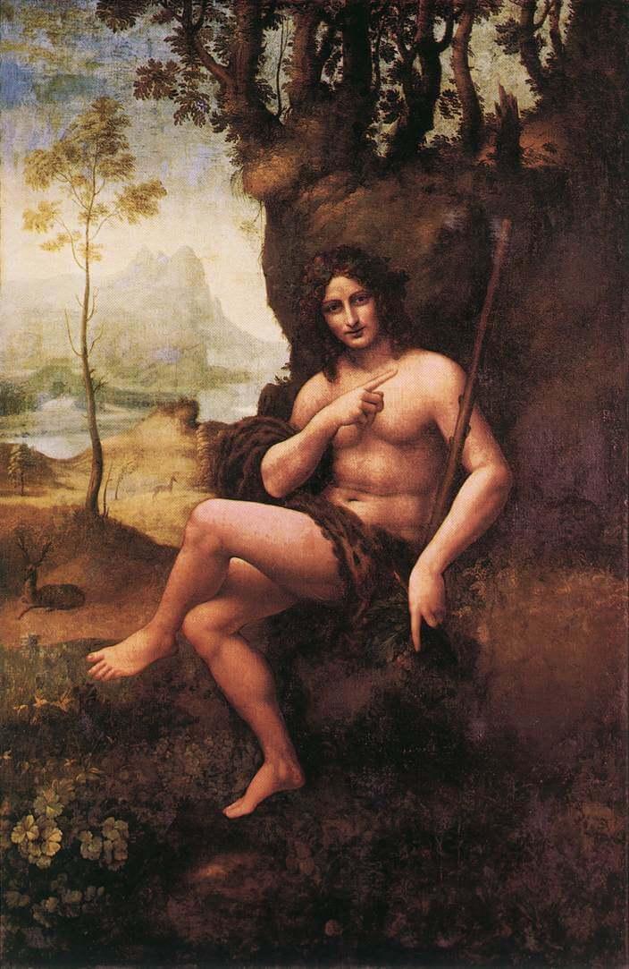 Bacchus - by Leonardo Da VinciBacchus Da Vinci