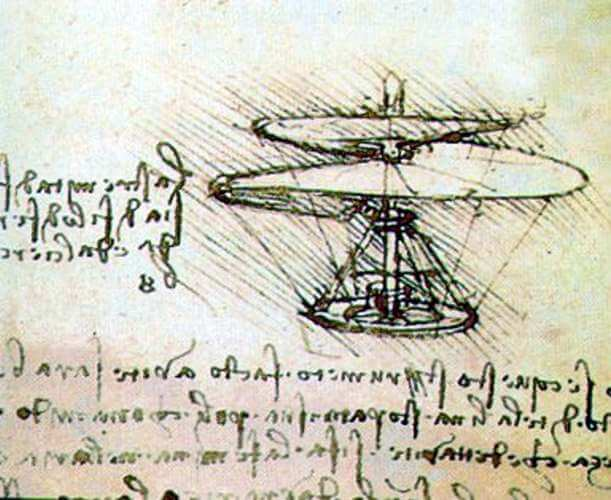 Leonardo Da Vincs Dream Of Flying