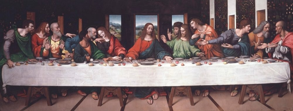 The Last Supper Copy - by Giampietrino