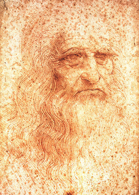 Image result for self portrait leonardo da vinci
