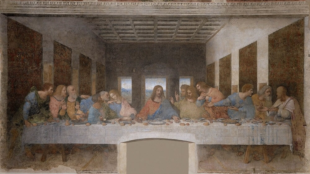 Image result for last supper painting